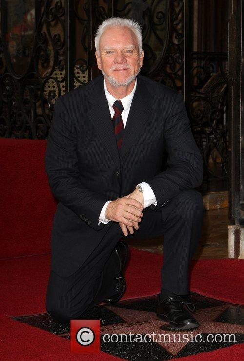 Malcolm McDowell and Walk Of Fame 5