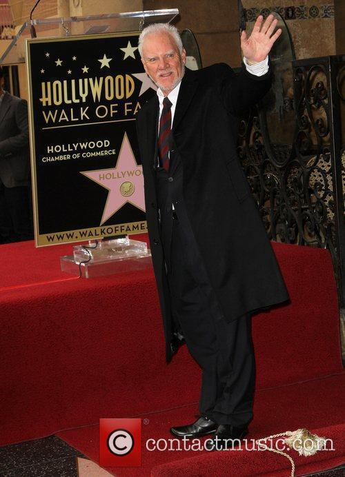 Malcolm McDowell and Walk Of Fame 6