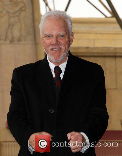 Malcolm McDowell and Walk Of Fame 8