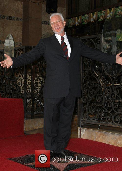 Malcolm McDowell and Walk Of Fame 9