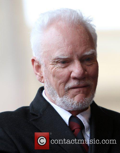 Malcolm McDowell and Walk Of Fame 10