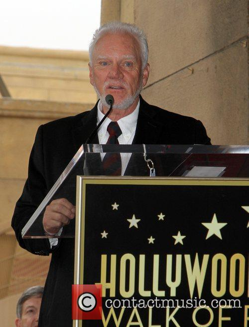 Malcolm McDowell and Walk Of Fame 13