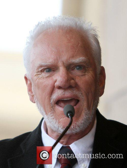 Malcolm McDowell and Walk Of Fame 14