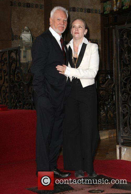Malcolm McDowell with his wife Kelley The Hollywood...