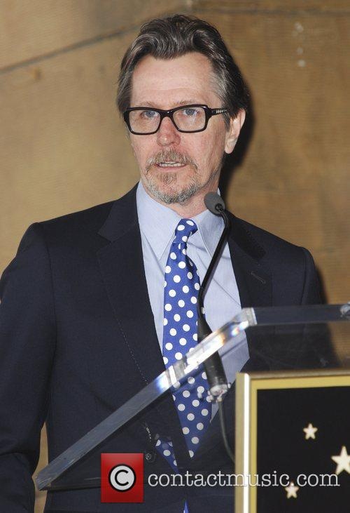 Gary Oldman and Walk Of Fame 7