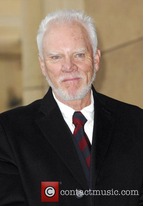 Malcolm McDowell and Walk Of Fame 16