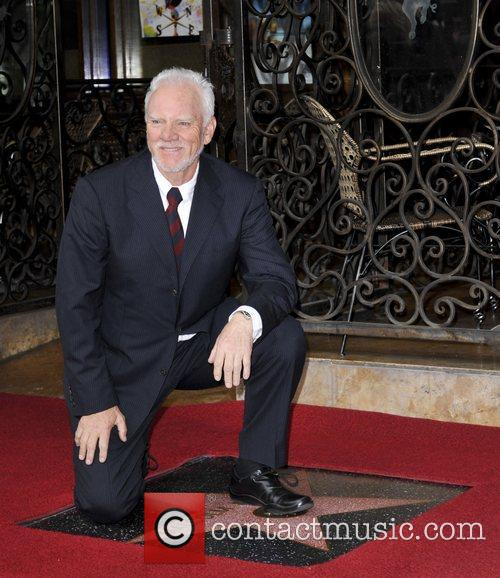 Malcolm McDowell and Walk Of Fame 18