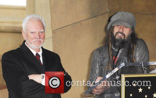 Rob Zombie, Malcolm Mcdowell and Walk Of Fame 6