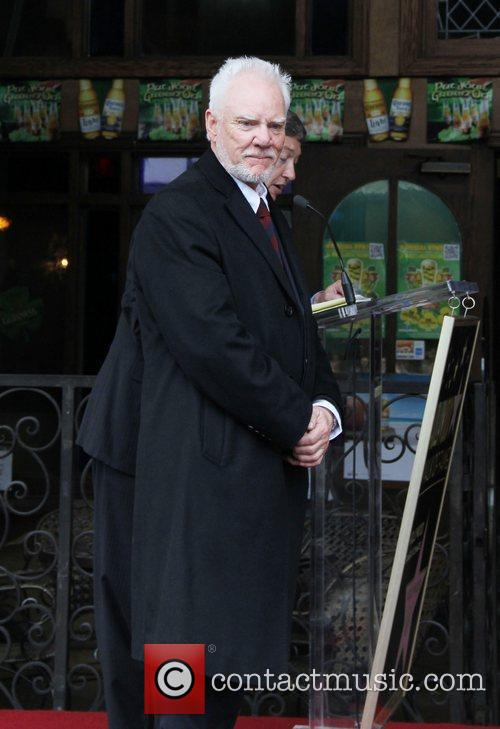 Malcolm McDowell and Walk Of Fame 20