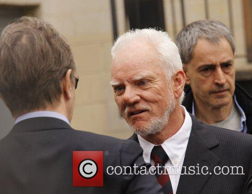 Malcolm McDowell and Walk Of Fame 22