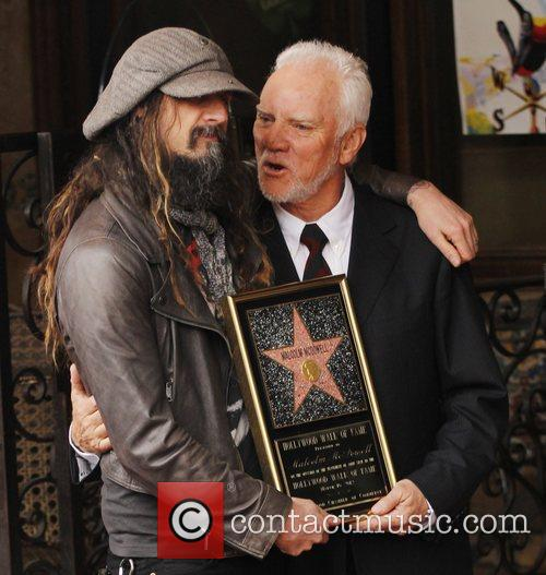 Rob Zombie, Malcolm Mcdowell and Walk Of Fame 5
