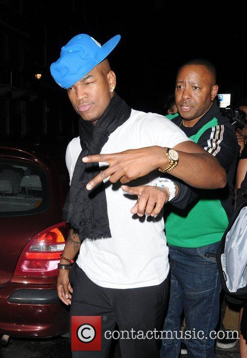 Ne-yo, Malibu Red and Salon Club 1