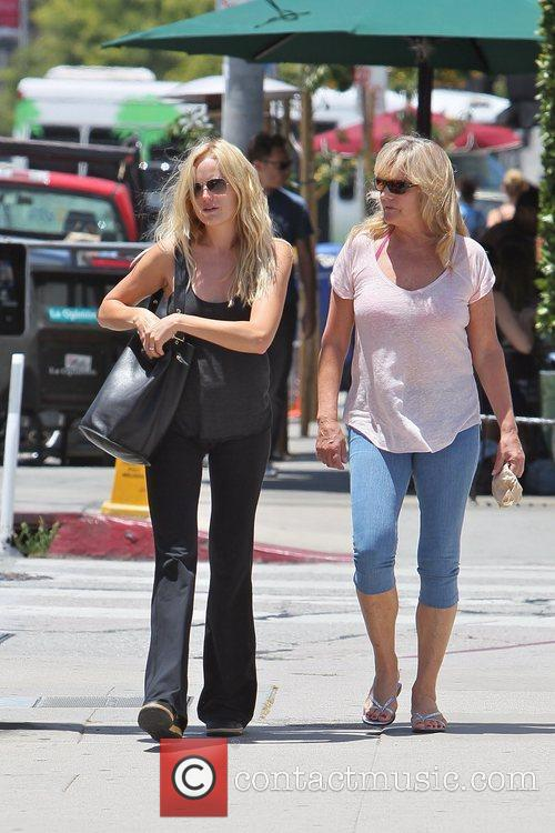 Malin Akerman seen leaving the Urth Caffe after...