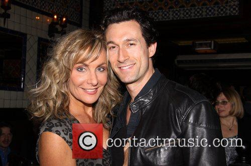 Judy McLane and Aaron Lazar 11th Anniversary party...