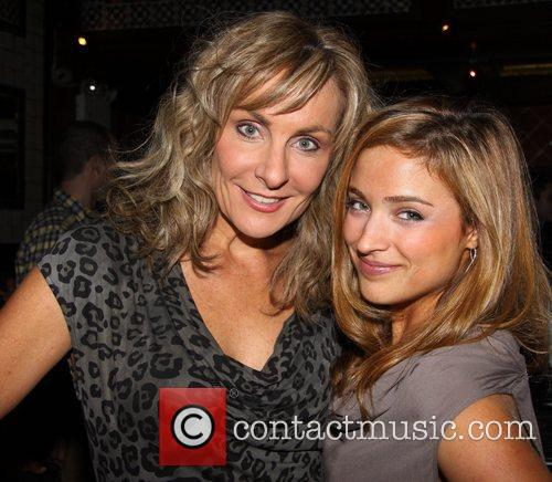 Judy McLane and Christy Altomare 11th Anniversary party...