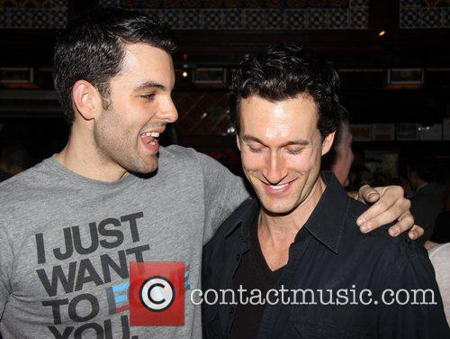 Zak Resnick and Aaron Lazar 11th Anniversary party...