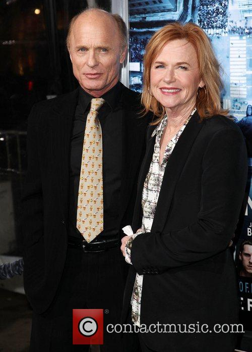 Ed Harris, Amy Madigan and Grauman's Chinese Theatre 1