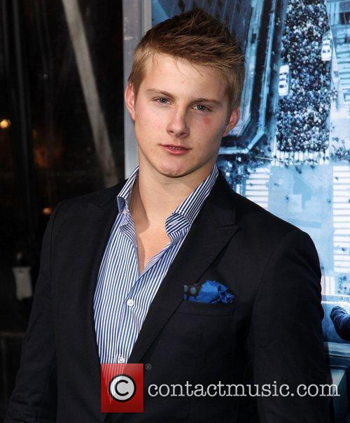 Alexander Ludwig and Grauman's Chinese Theatre 4