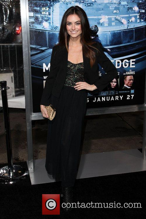 Brooke Lyons Premiere of 'Man on a Ledge'...