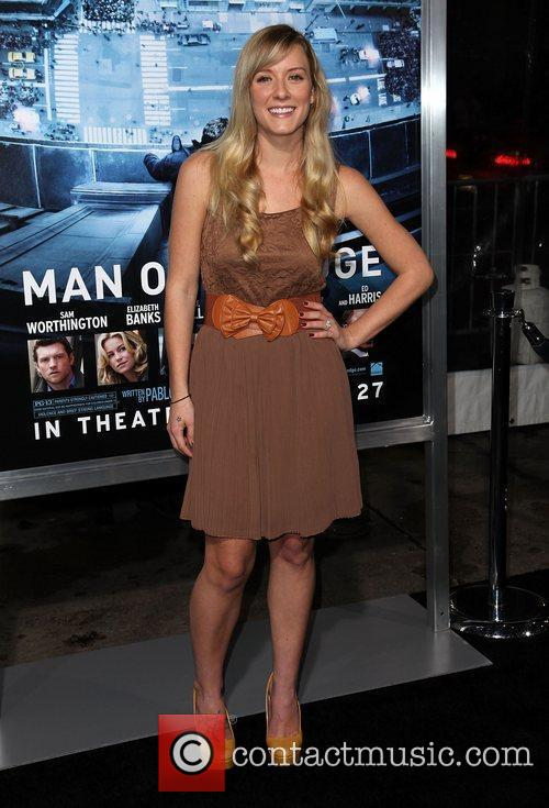 Kristen Quintrall Premiere of 'Man on a Ledge'...