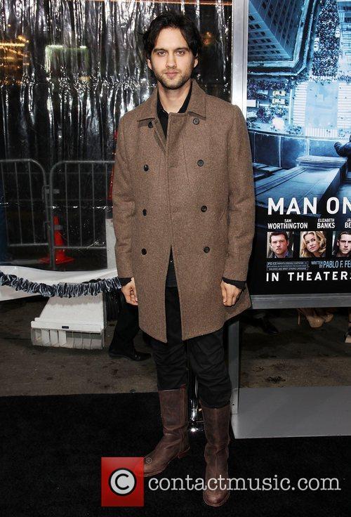 Michael Steger Premiere of 'Man on a Ledge'...