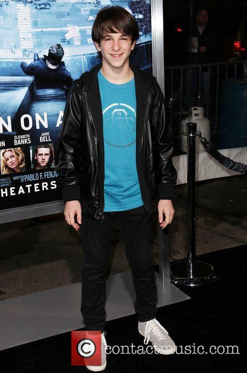 Zachary Gordon and Grauman's Chinese Theatre 1