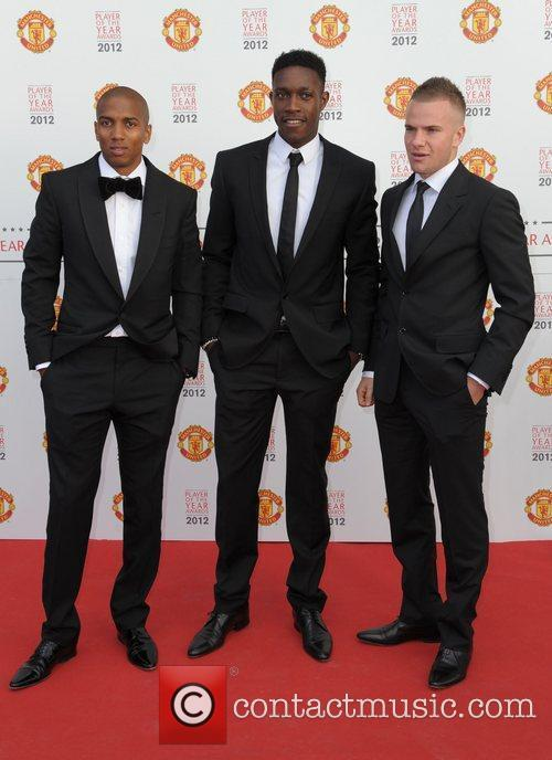 Ashley Young, Danny Welbeck and Tom Cleverly a...