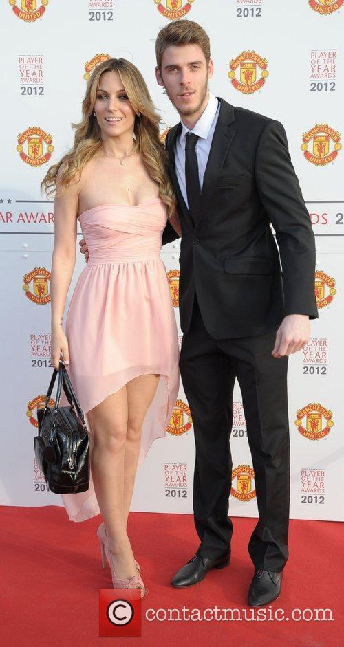 David de Gea and guest Manchester United Player...