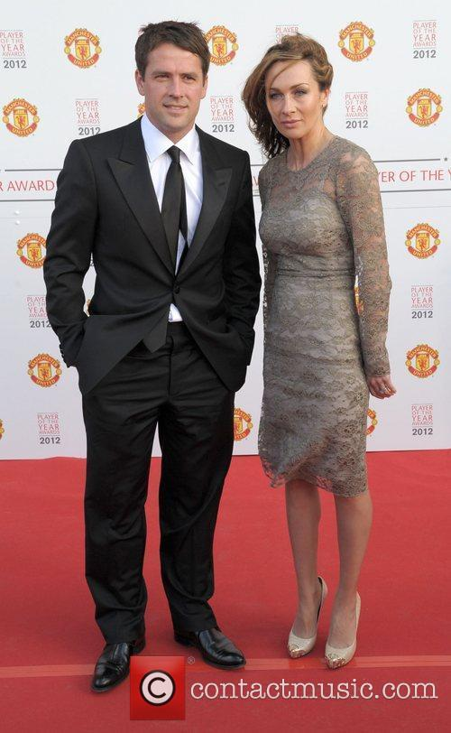 Michael Owen and his wife  Manchester United...