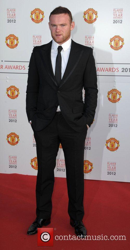 Wayne Rooney Manchester United Player Of The Season...