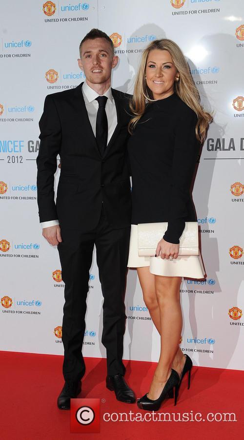 Darren Fletcher; Hayley Grice Manchester United Player of...