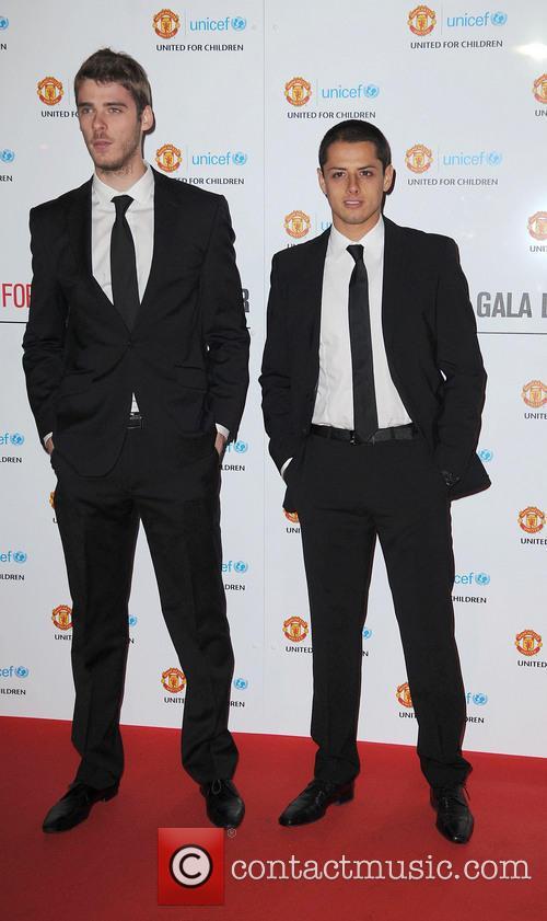 David de Gea; Javier Hernandez Manchester United Player...