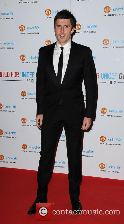 Micheal Carrick Manchester United Player of The Year...