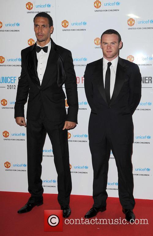 Rio Ferdinand and Wayne Rooney 2