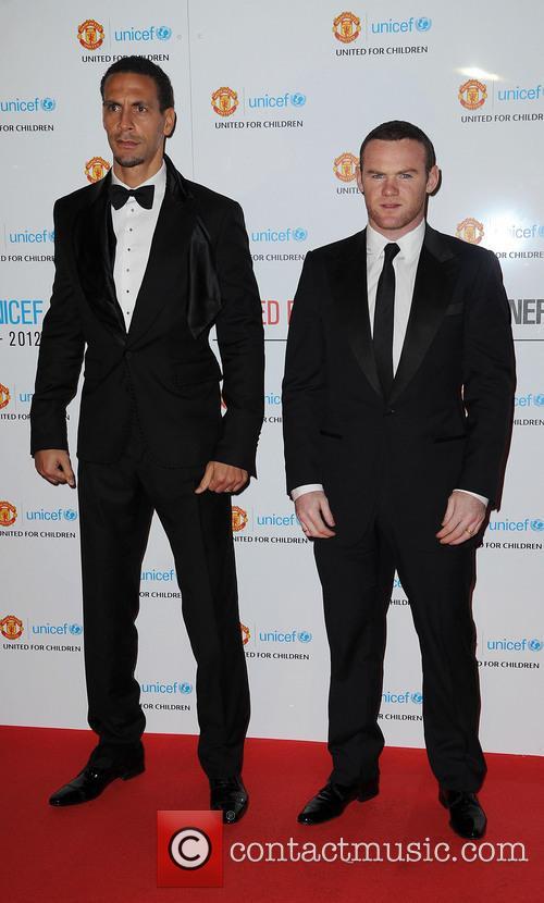 Rio Ferdinand and Wayne Rooney 1