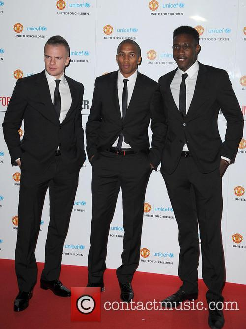 Tom Cleverley; Ashley Young; Danny Welbeck Manchester United...
