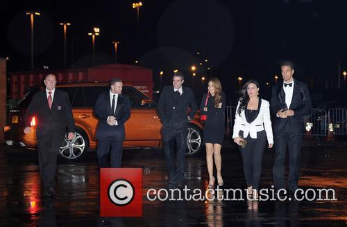 Wayne Rooney, Robin, Persie, Bouchra, Rio Ferdinand and Rebecca Ferdinand 4