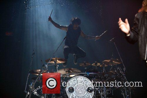Alex Gonzalez performs at AmericanAirlines Arena. Miami, Florida