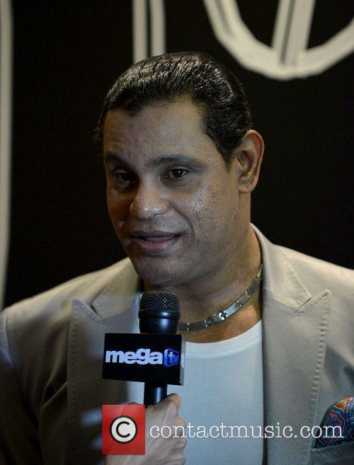 Sammy Sosa attends the Mana concert at AmericanAirlines...