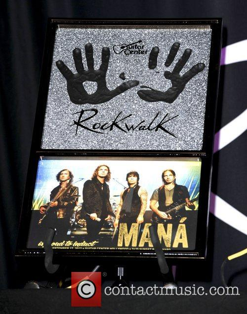 Multi-Platinum and Grammy Winning Mexican Rock band 'Mana'...