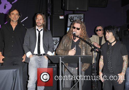 Sergio Vallin, Alex Gonzalez, Fher Olvera and Juan Calleros 5