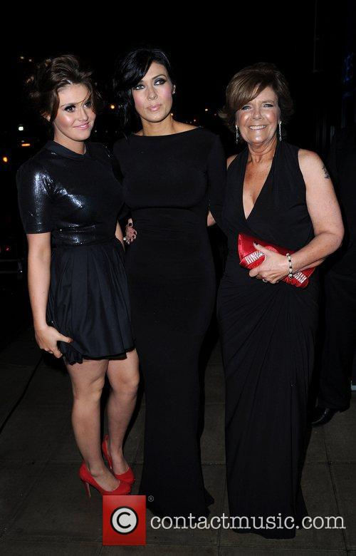 Kym Marsh, daughter Emily May Cunliffe and mother...