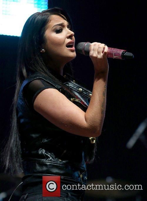 Tulisa Contostavlos and Manchester Arena 7