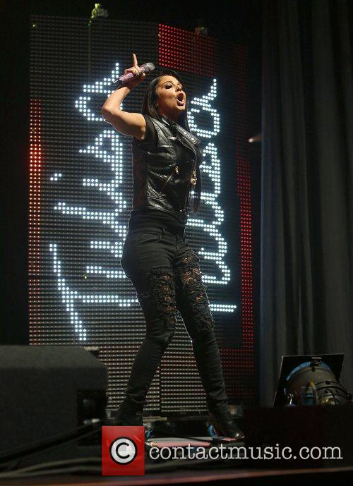 Tulisa Contostavlos and Manchester Arena 2