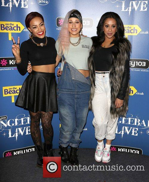 Karis Anderson, Courtney Rumbold, Alexandra Buggs, Stooshe and Manchester Arena 1
