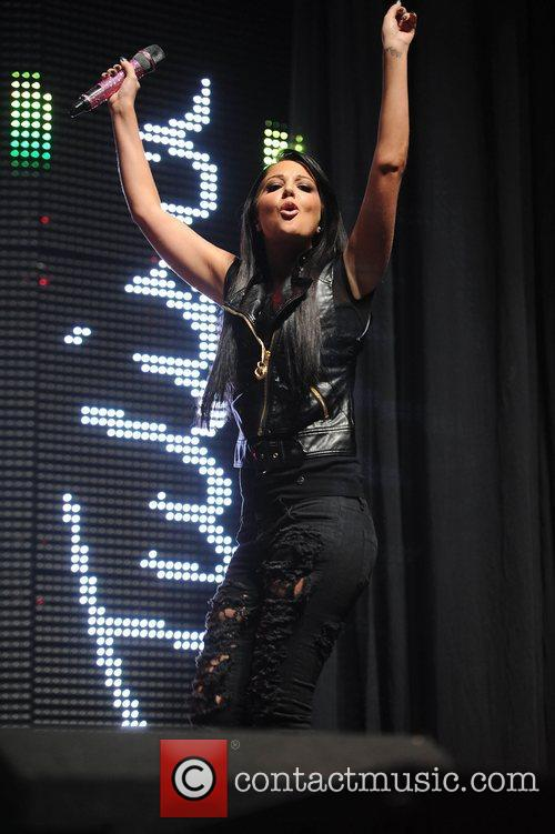 Tulisa Contostavlos and Manchester Arena 12