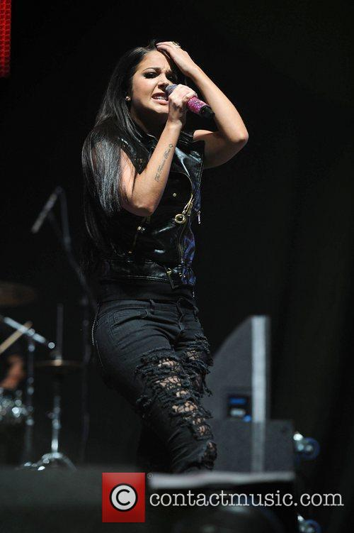 Tulisa Contostavlos and Manchester Arena 8