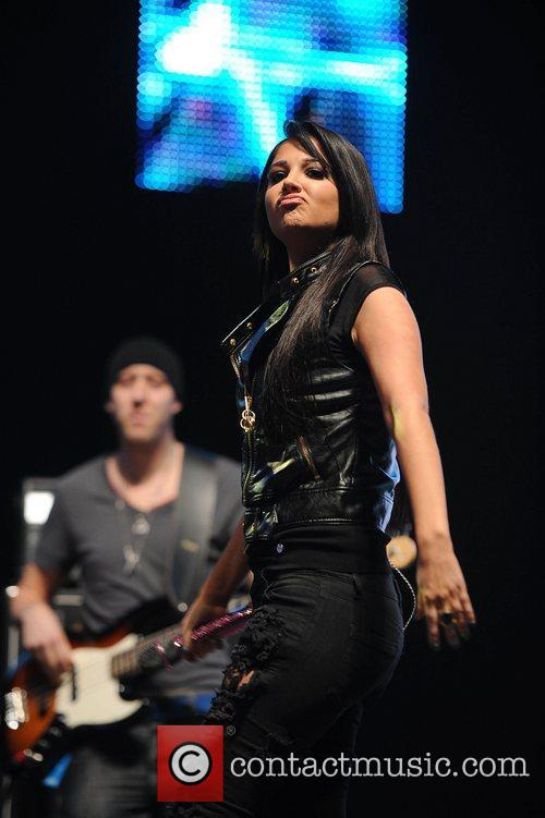 Tulisa Contostavlos and Manchester Arena 13