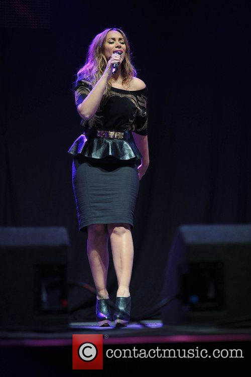 Leona Lewis and Manchester Arena 8