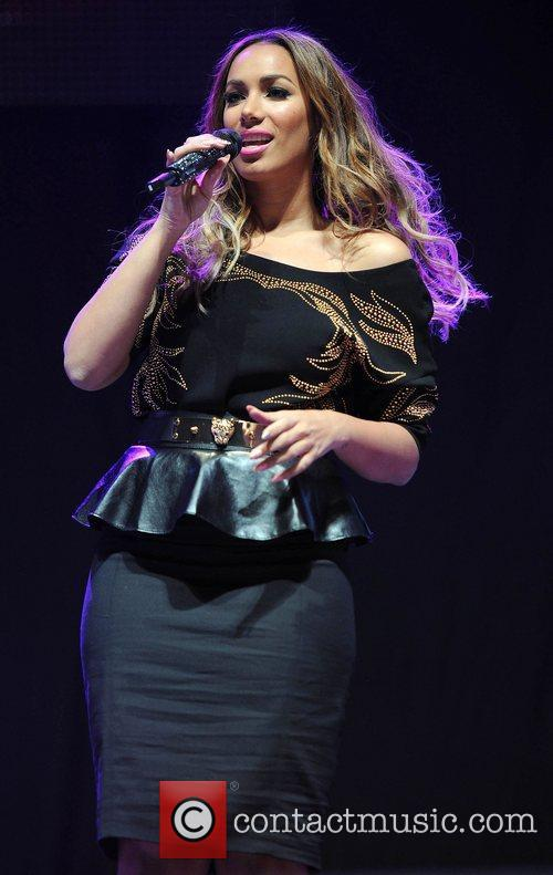 Leona Lewis and Manchester Arena 11